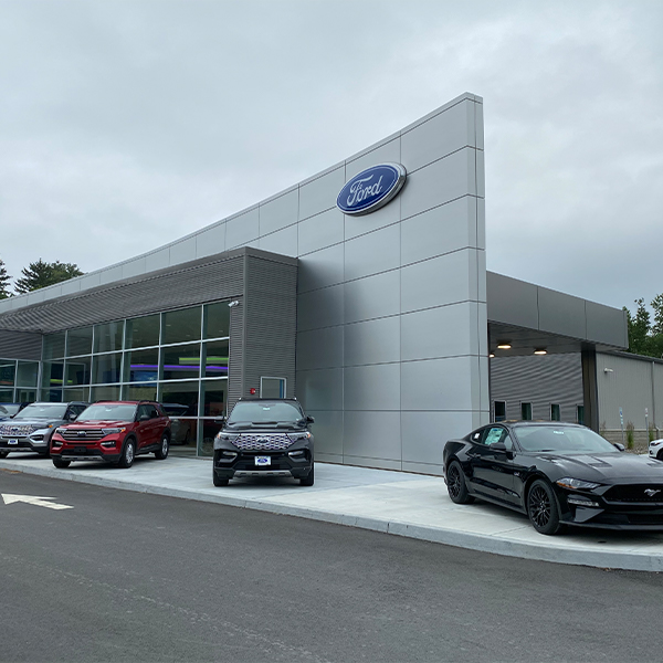 Fuccillo Ford Dealership outside view
