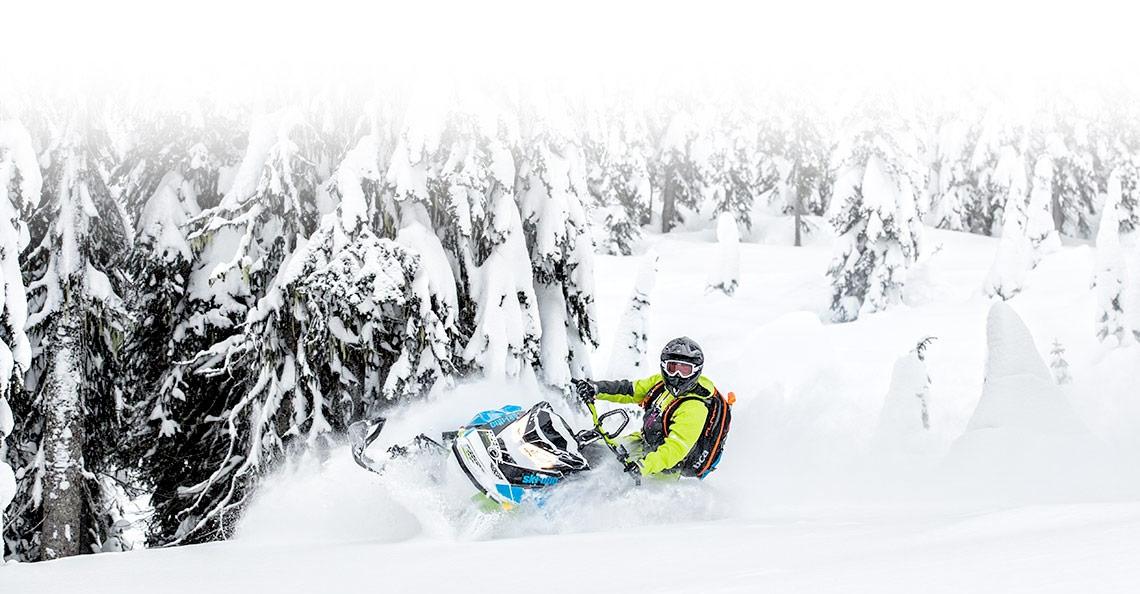 Ski-Doo® Freeride® on snow