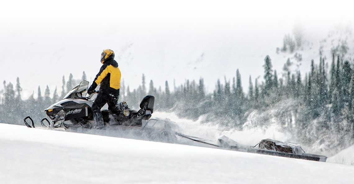 Ski-Doo® Expedition® on show