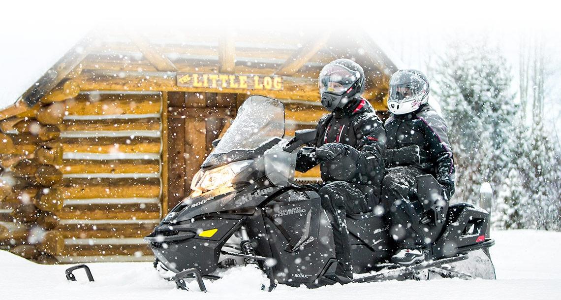 Ski-Doo® Grand Touring on snow