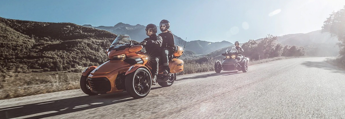 Shop The New 2019 Can-Am Spyder At Island Powersports