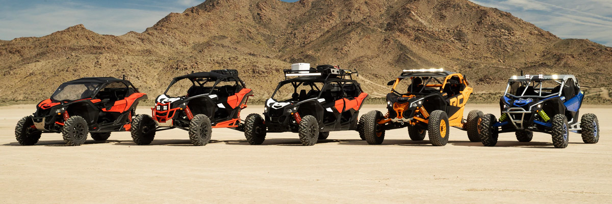 Lineup of Powersports Imagery