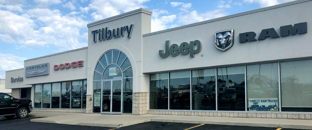 Tilbury Chrysler - 76 Mill St West, Tilbury, ON, N0P 2L0, Canada