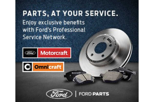 Parts at your service