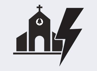 LIGHTNING STRIKES WAKEFIELD CHURCHWAKEFIELD, MA